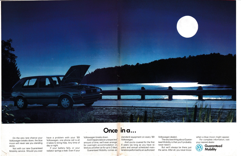 1989 Vw Jetta One In A Lifetime Breakdown Volkswagen Original Etsy