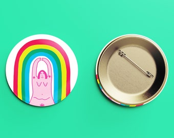 I'm a Rainbow Badge