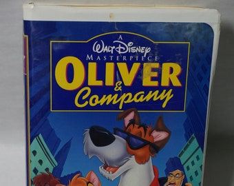 Disney's Oliver and Company - Vintage VHS