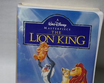 Disney's The Lion King - Vintage VHS - Excellent Condition w/Coupons