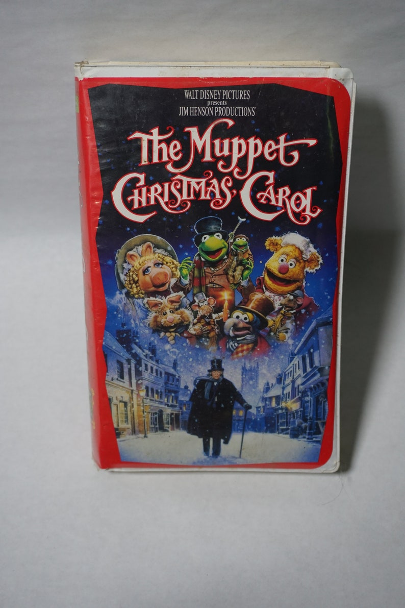 Muppet Christmas Carol Vhs.Disney S The Muppet Christmas Carol Vintage Vhs
