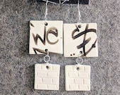 Ceramic Earrings Urban Gr...