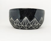 Pottery Bowl Geometric Mo...