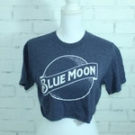 Blue Moon Beer Vintage Graphic t-shirt (RARE One of a Kind)