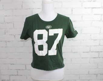 16fe63465a4 New York Jets Football Eric Decker #87 Vintage Graphic t-shirt (RARE one of  a kind)