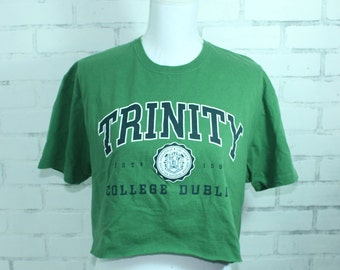 Trinity College Vintage Graphic t-shirt (RARE one of a kind) College  Tailgate Game Day Tshirt 0ddd93c8d
