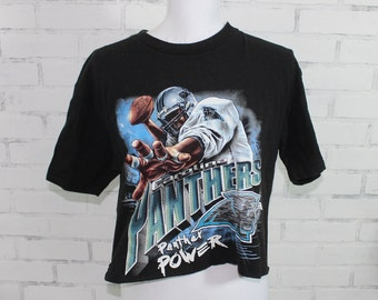 6bc88708d11cb6 Carolina Panthers Football Vintage Graphic t-shirt (RARE one of a kind)