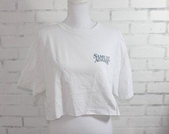 Sam Adams Female L Tshirt /& Keychain