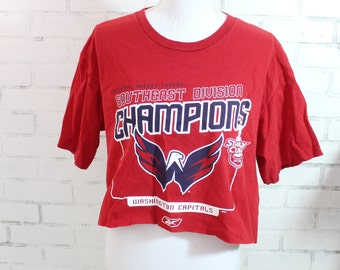 fb7b10072 Washington Capitals NHL Hockey Stanley Cup Champions Vintage Graphic t-shirt  (RARE one of a kind)