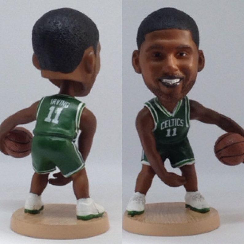 a63a7c2d3a4 Kyrie Irving 12.5cm Moveable Bobble Head Action Toy Figure