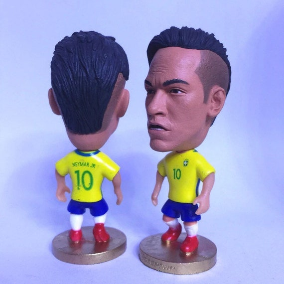 Paris Saint-Germain PSG #10 Soccer Football Action Figure Figurine Neymar Jr