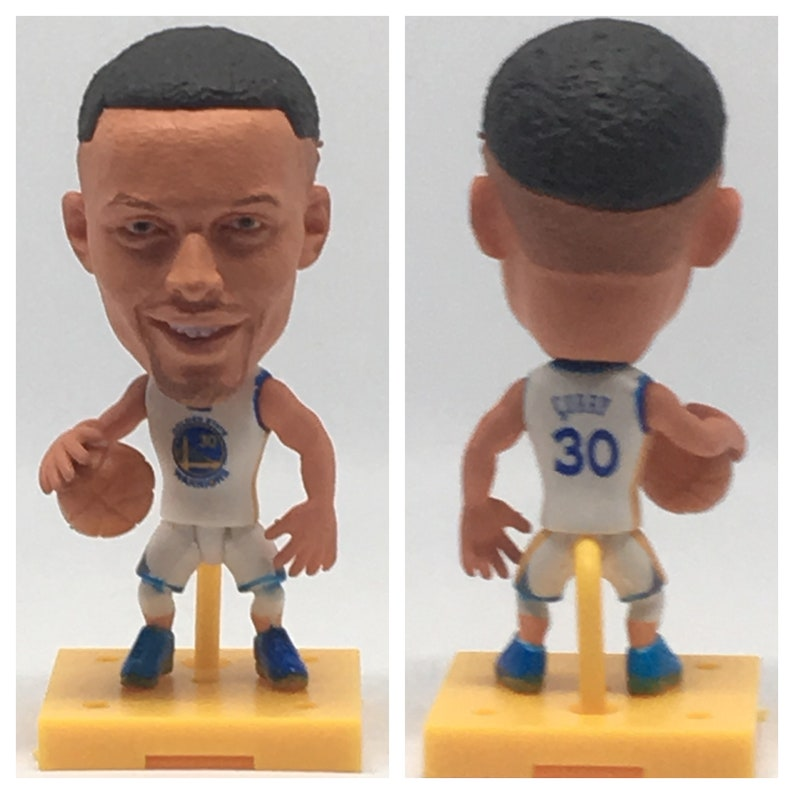 0f45687f290 Stephen Curry Moveable Action Toy Figure Basketball Fan