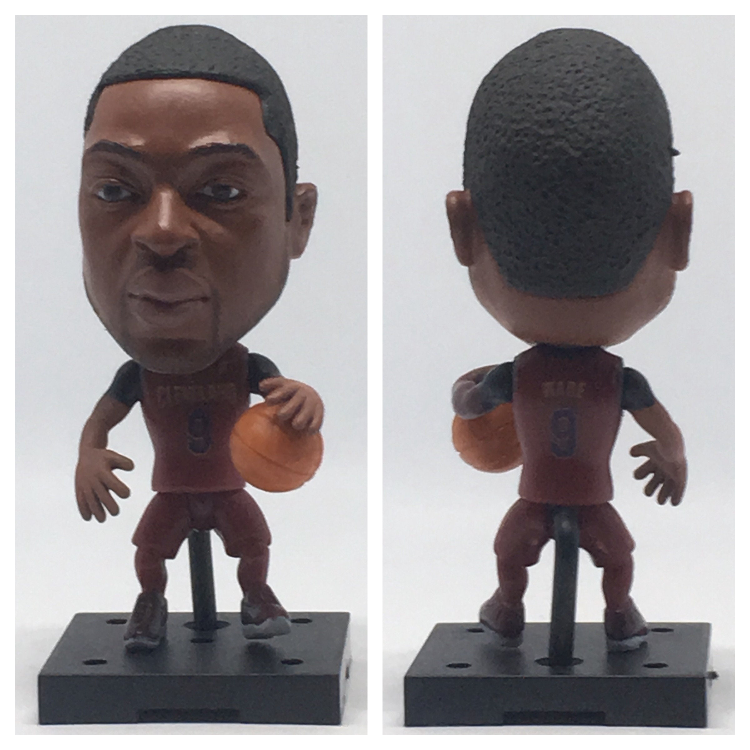 bde0dc0ed5f Dwyane Wade Moveable Action Toy Figure Basketball Birthday