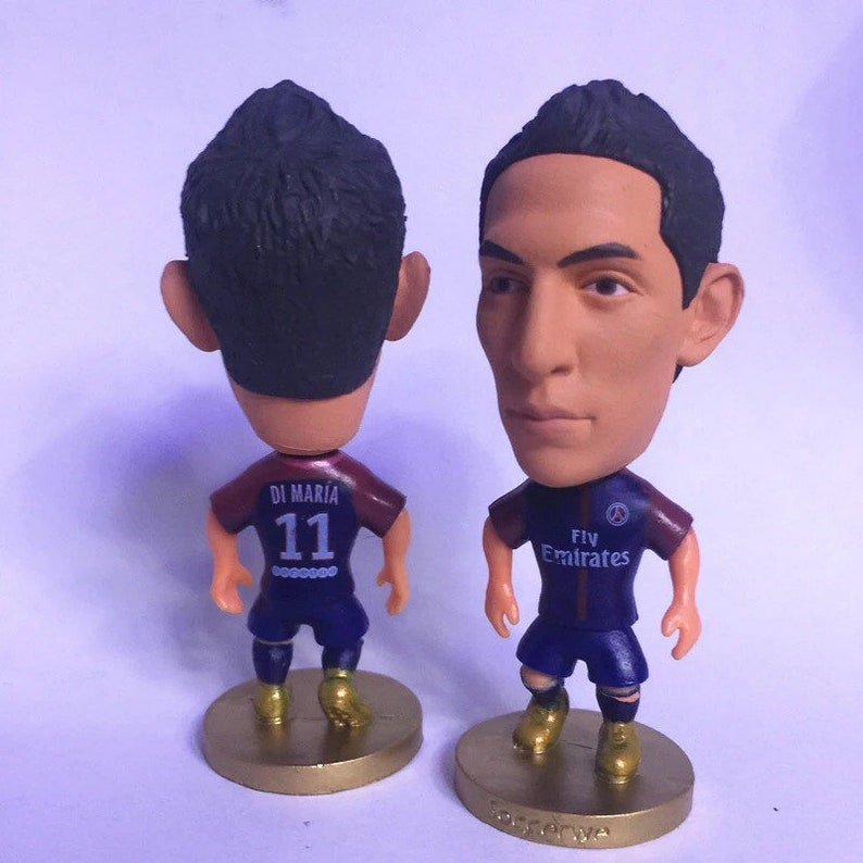0250701ad42 Angel Di Maria Soccer Football Moveable Action Toy Figure Cake