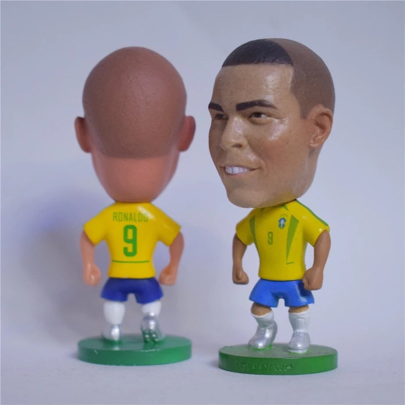 9853a28b2b7 Ronaldo Classic Soccer Football Moveable Action Toy Figure