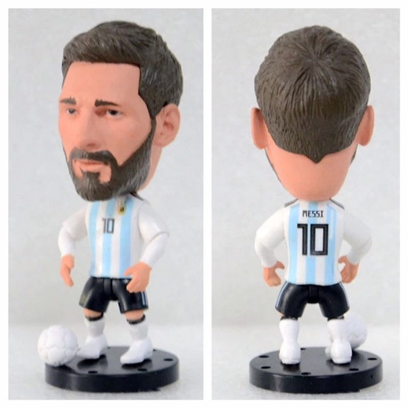 3ab783cb827 Lionel Messi Soccer Football Moveable Action Toy Figure Cake