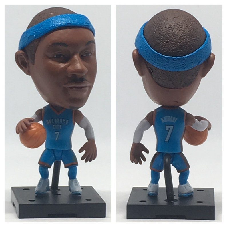 82ee096d4ab Carmelo Anthony Moveable Action Toy Figure Basketball Gift