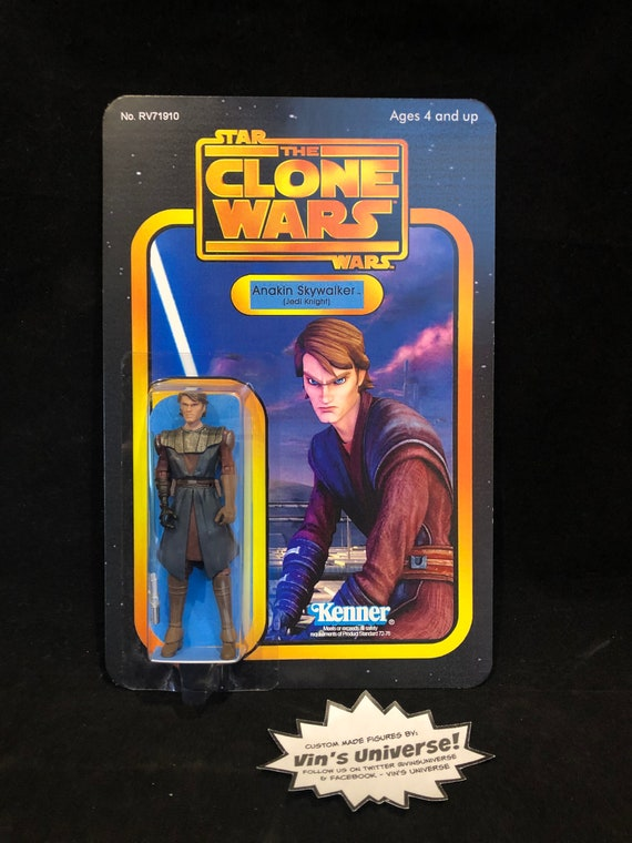 Cartoon Network Star Wars Clone Wars Commander Jedi Padawan Etsy