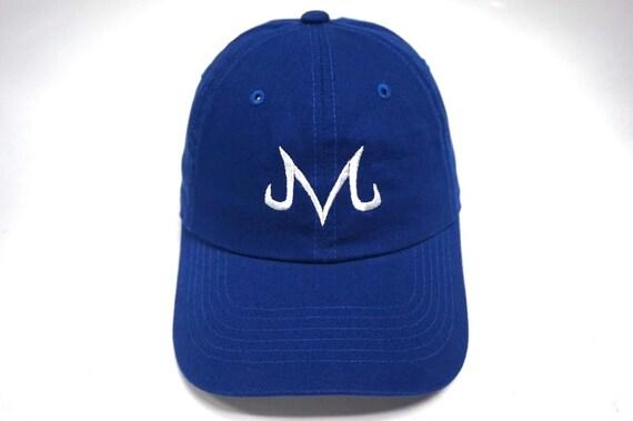 dfd480db005 Majin M Hat Dad Hat Blue