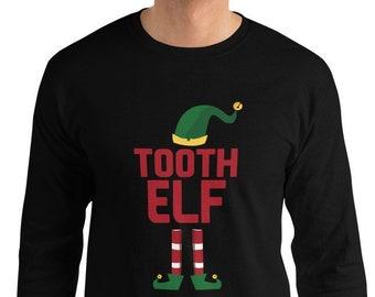 Tooth Elf Xmas Season Family Matching Pajama Long Sleeve Tee 4f4fe9bbd