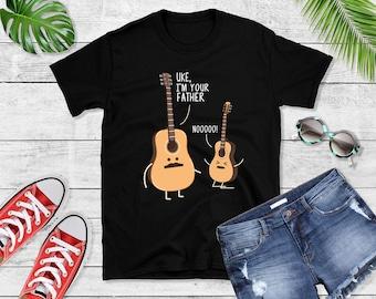 dc0e1f3e Uke I'm Your Father T-Shirt, Funny Ukulele Shirt, Guitar Lover Shirt, Band  Shirt, Guitar Shirt, Guitar tee, Guitar Gift, Ukulele Shirt