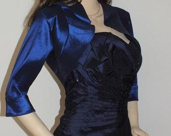 Navy  Evening Bolero Jacket,Bridal Bolero,Wedding Bolero,Promdress Bolero