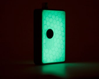 Billet Box Sportelli luminescenti / Billet Box luminescent Panels / 3d printed / Stampa 3D / Handmade / Billet Box / Vape Case / e-Cig