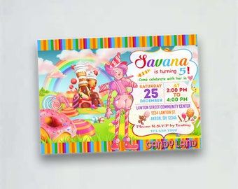candyland invitations candy land birthday invitation candy invitations cupcake birthday cupcake invitation candyland party invite