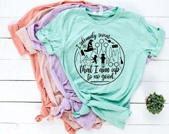 99145ccaa9a I Solemnly Swear That I Am Up To No Good Shirt • Women and Girl s Universal  Trip Shirt • Harry Potter Shirt • Hogwart Shirt •