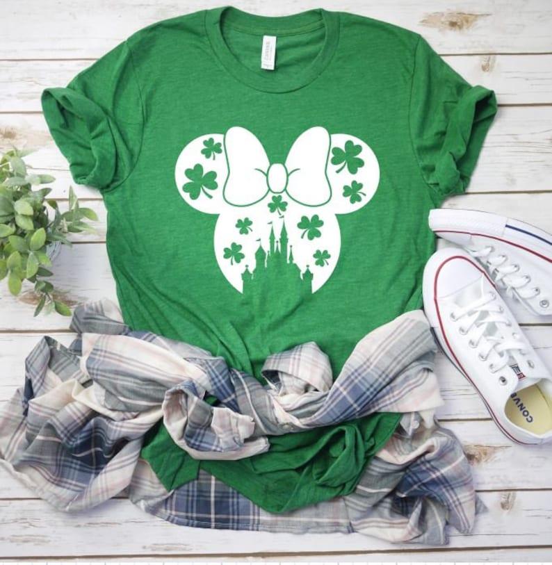 1a6d2f3a6 Disney St. Patrick's Day Shirt Mickey Mouse St. | Etsy