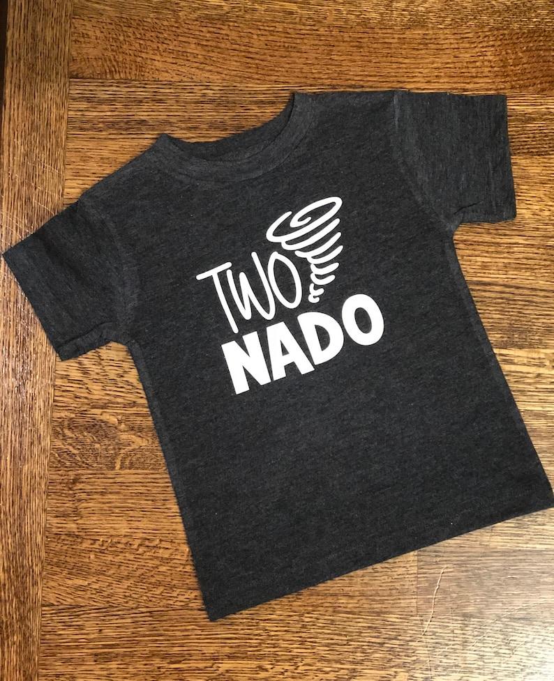 b6be22be442 TwoNado Birthday Shirt With Name • 2 Birthday Shirt • Two Year Old Birthday  Shirt • Boy Birthday • Second Birthday • Birthday Party Shirt •
