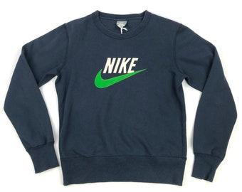 2ff6e845 Vintage mens nike navy long sleeve NIKE AIR sweatshirt - SMALL - 001