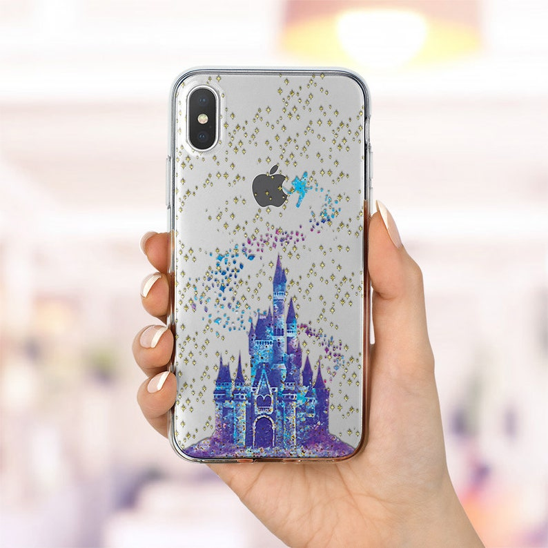 coque iphone xr disney transparente