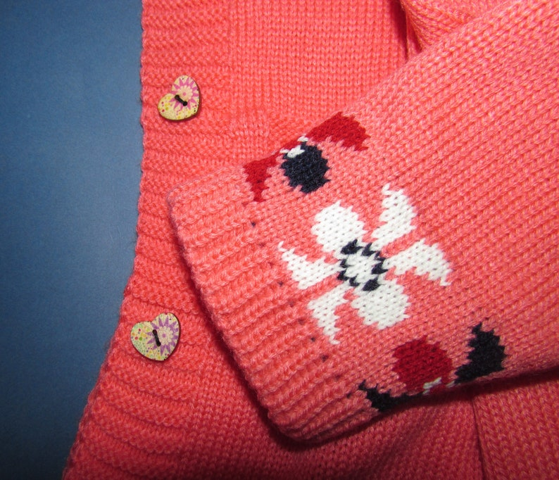 woolcotton knit Photoshoot sweater sweater with buttons Girls hoodie 3T-4T holiday sweater button-down