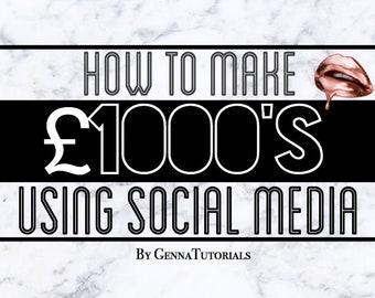 How to make 1000s using Social Media