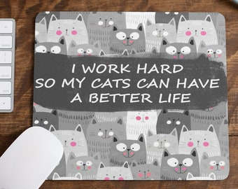 Dogs Funny Quote Mouse Pad Cute Mousepad Men Women Desk Accessorie Office Supplies Gift for Coworker Boss Dog Lovers Puppies A355