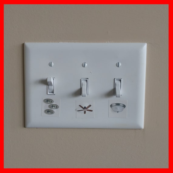 Correct Switch Light Switch Labels For Home Light