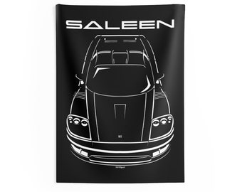 Ford Mustang Saleen SN95-1999-2004 Poster Saleen Garage Decor Wall Art Gifts