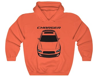Multi-Color Charger Hellcat Hoodie Sweatshirt Dodge Charger