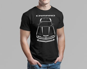 Chevrolet Camaro 5th gen 2010 - 2013 - Multi-color T-shirt - Camaro SS Shirt - Car Enthusiast Gifts - Cars Gift - Racing Shirts Car Tees