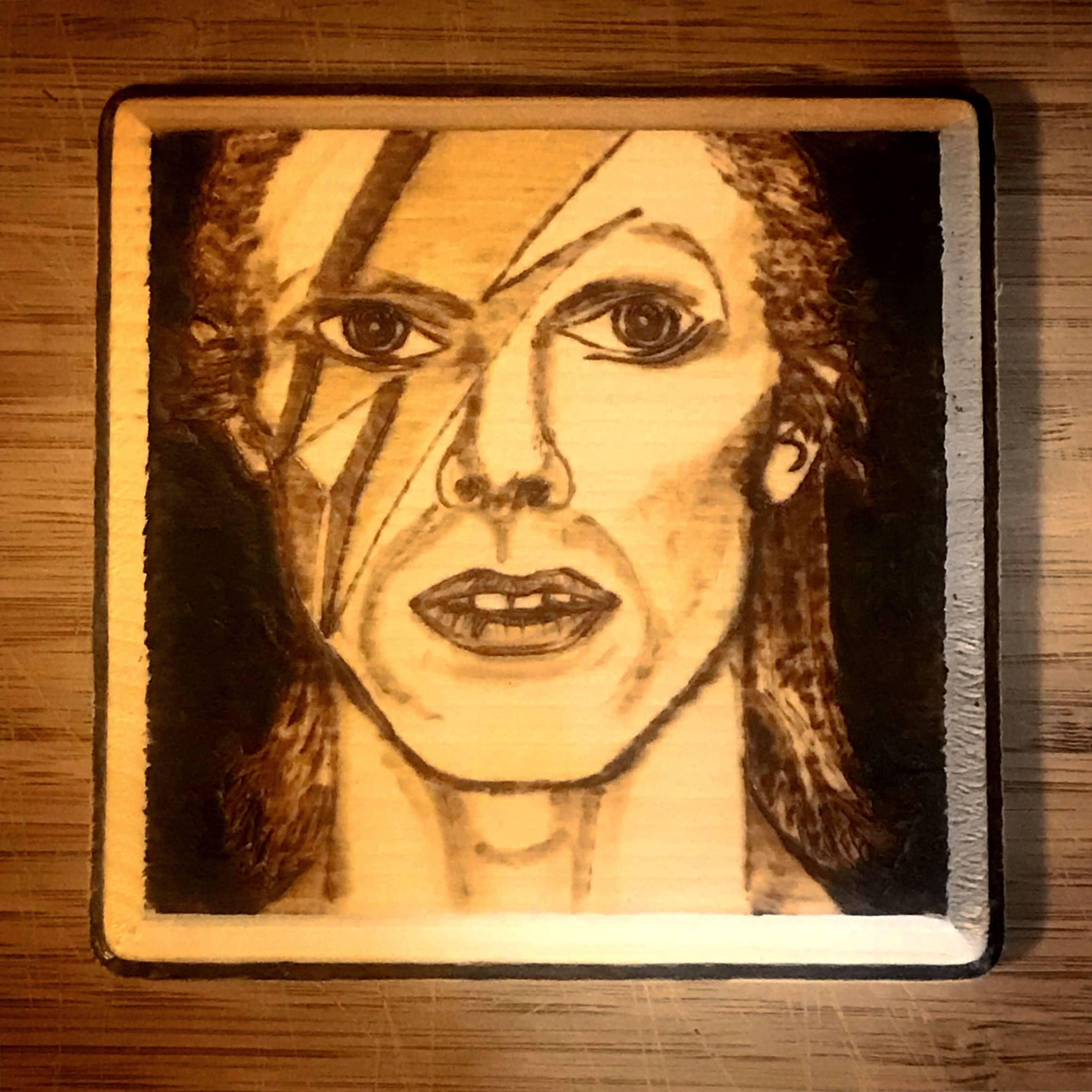 David Bowie Aladdin Sane | Etsy