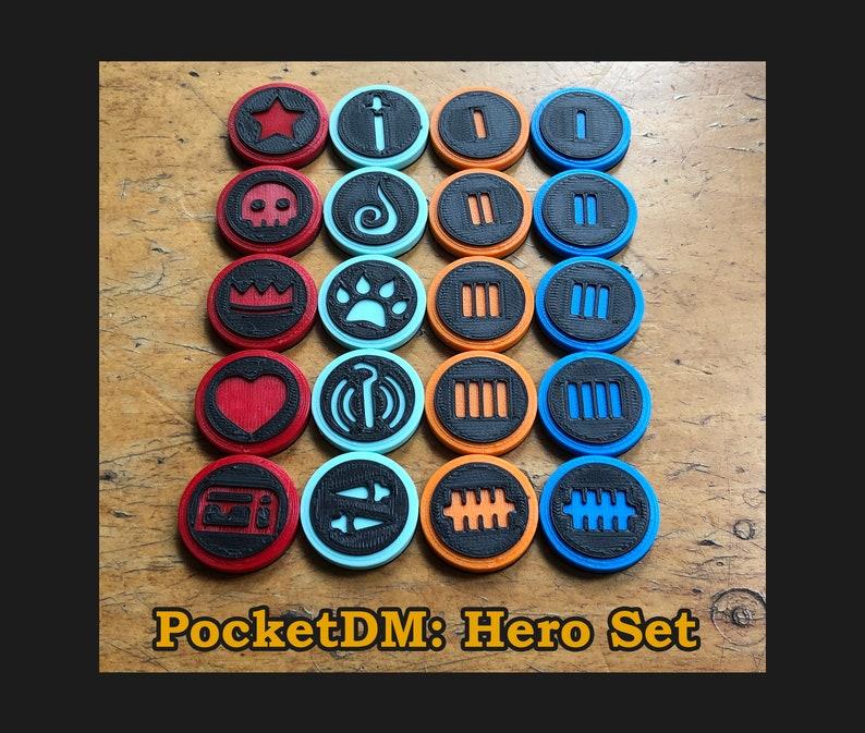 PocketDM  Hero Set The Mobile D&D kit image 1