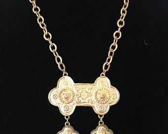 Accessocraft NYC Vintage Goldtone Necklace
