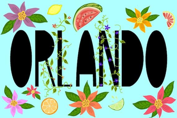 Orlando | Postcard | 4x6