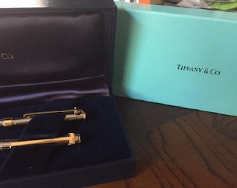 Tiffany & Co. Silver and Gold Pen and Pencil Set