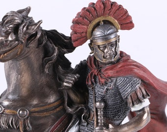 Roman Soldier on Horseback by Top Land Trading- Top Collection
