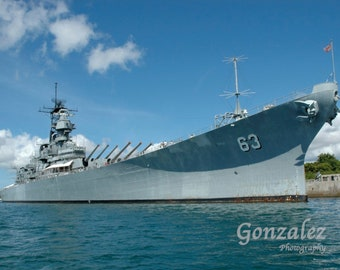 USS Missouri Photo Download Navy Battleship Printable US Photography Print 4x6