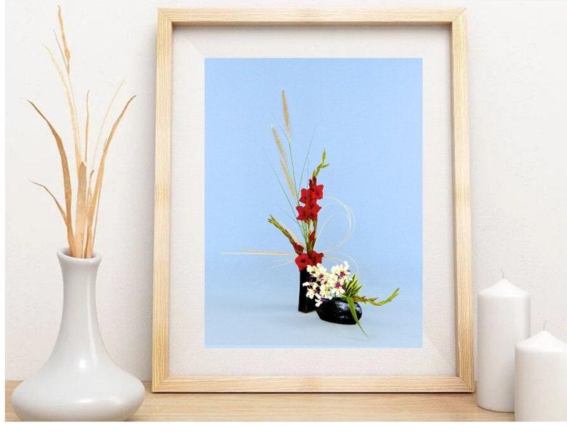 Fine Art Photography Japanese Art Print for Living Room Wall Art Original Art Print for Wedding Gift Ikebana Hawaiian Art Print