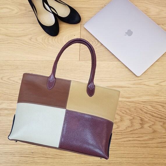 28d599fe97f Office Handbag Leather Handbag Shoulder Bag Tote Bag   Etsy