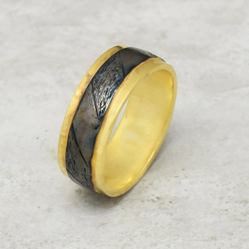 Gift For him handmade by VcollectionJewelry gold plated rings brass rings Beads rings Gifts for mom handmade rings gifts for her